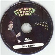 Andy Comic DVD Magic Tricks -  Dice Bomb