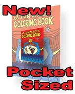 "Royal Pocket Size Coloring Book - 4.25"" x 5.5"""