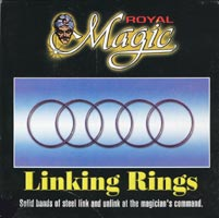 Royal Chinese Linking Rings - 5""