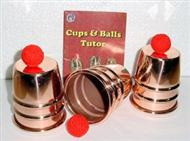 "Cups and Balls - Copper Plated Large 3"" x 3.5"" (FT)"