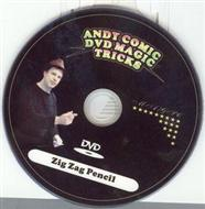 Andy Comic DVD Magic Tricks - Zig Zag Pencil