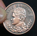 DPG Houdini Classic Collectors Coin - Bronze