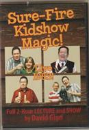 David Ginn Sure Fire Kidshow Magic DVD