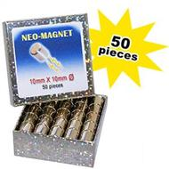Neo Magnet - 10x10mm - 50 Per Pack