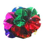 "Metallic Flower Bouquet - 14.5"" Large"