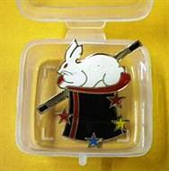 Magician's Lapel Pin - Rabbit in Hat (FT)