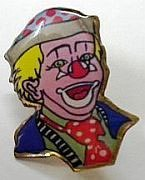 Magicians Lapel Pin - Clown (FT)
