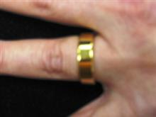 "Magnetic PK Ring - Gold 1.8"" (China)"