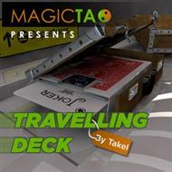 Travelling Deck, with DVD, Blue - Magic Tao