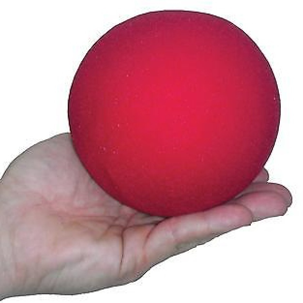 "Sponge Ball - 4"" - Supersoft - Red"