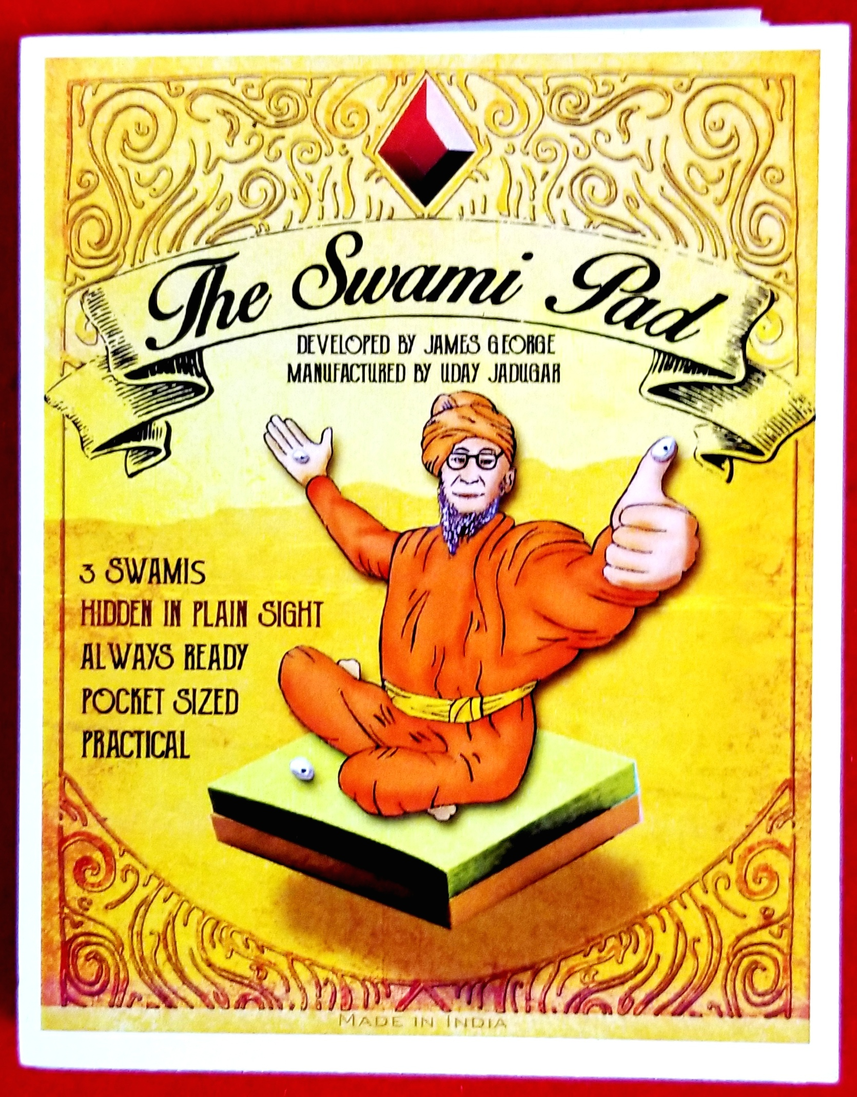 Ultimate Mind Reading Device - the Swami Pad