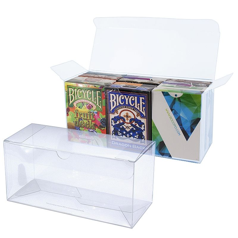 Storage Box for 12 decks - Transparent