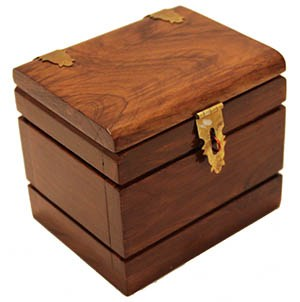 Watch Box Deluxe Teak  (FT)